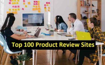 This is the image of top 100 Product Review sites