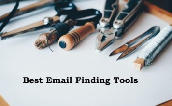 Email finding tools