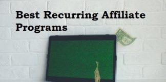 Best Recurring Affiliate Programs