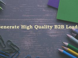 Generate High Quality B2B Leads