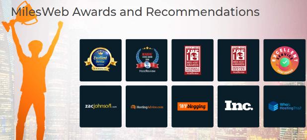 MilesWeb Awards