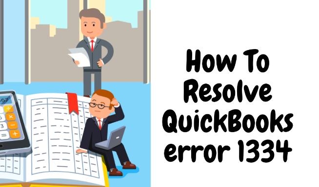 Fix Quickbook error 1334