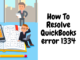 Fix Quickbook error 1334
