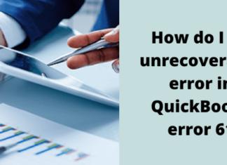 Quickbook error 61