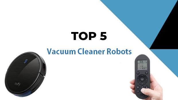 5 best vacuum cleaner robots