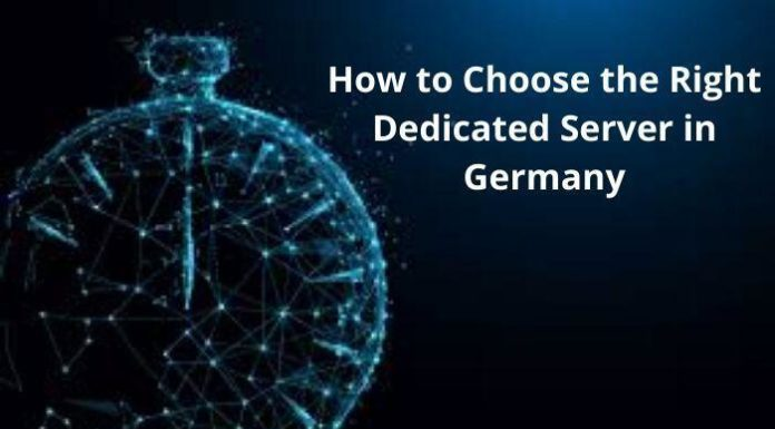 Choose the Right Dedicated Server in Germany