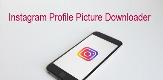 Instagram Profile Picture Downloader