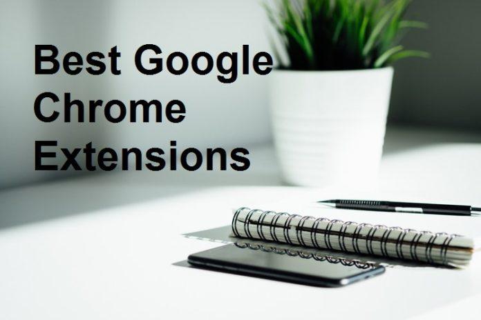 best Google chrome extensions
