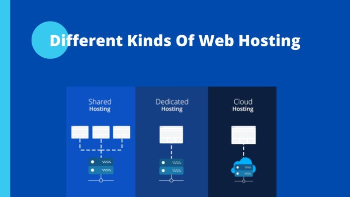 different kind of web hosting