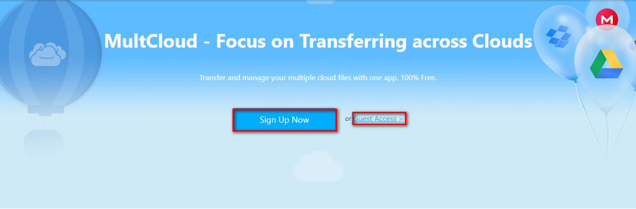 How to Use MultCloud?
