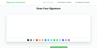 Impressive e-Signature