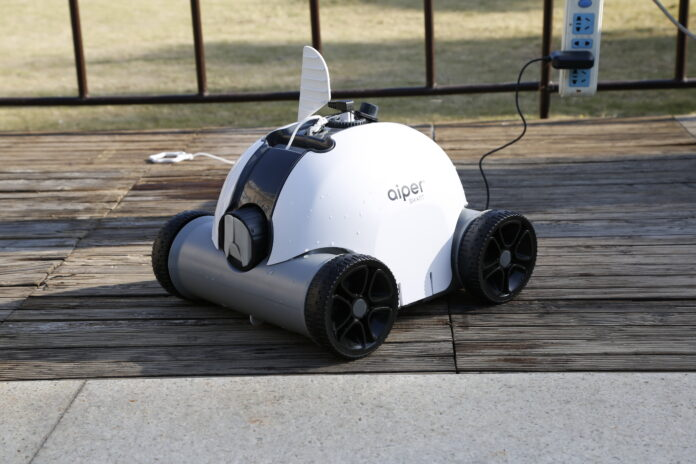 Small Robotic Pool Cleaner